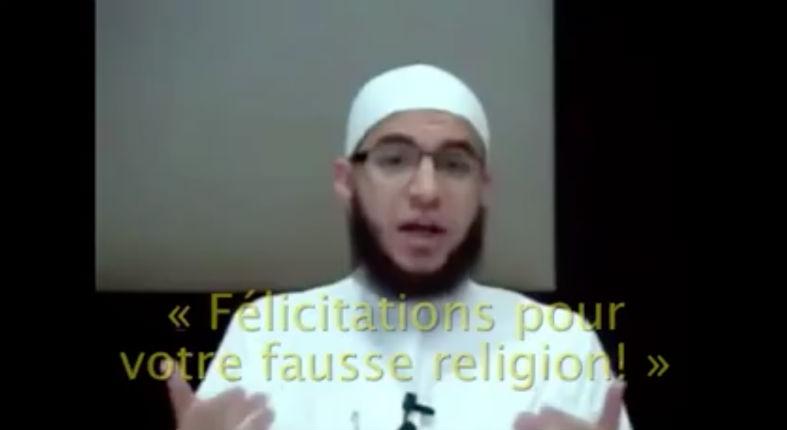 [Vidéo] Islam: Pour l'imam «souhaiter joyeux Noël est le pire crime à ne pas commettre»