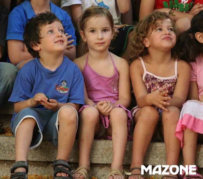 Une journée chez Disney pour les enfants de Mazone