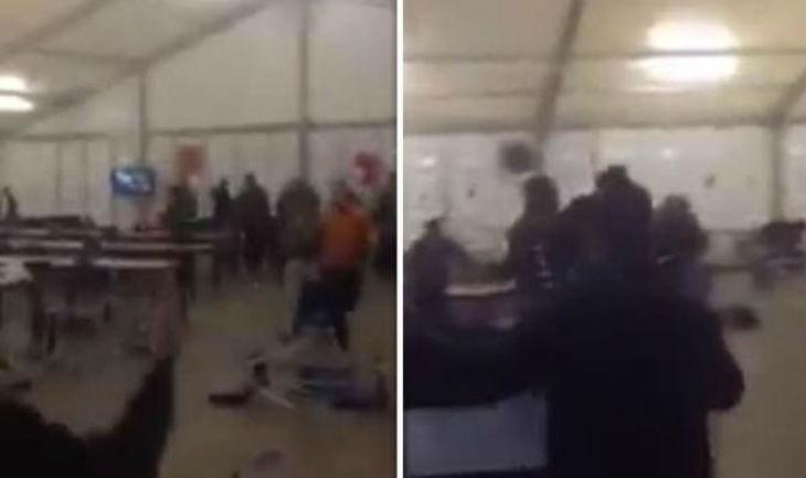 [Vidéo] Apeldoorn au Pays-Bas : les migrants ravagent le centre d'accueil