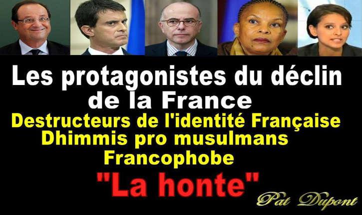 Ces Dhimmis qui Dirigent la France