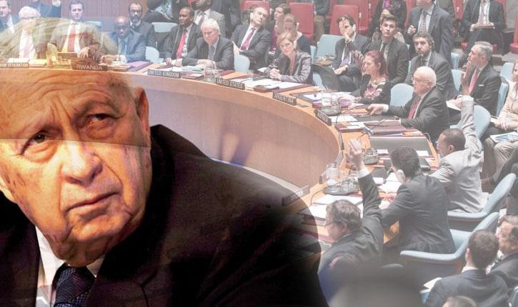 Conseil de sécurité: de son vivant, Ariel Sharon craignait ce genre de résolutions contre Israel