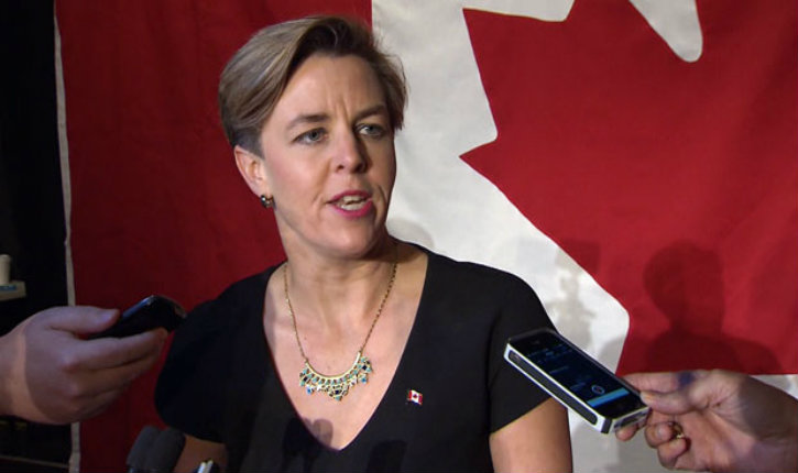 Canada : Kellie Leitch promet de transférer l'ambassade du Canada en Israël, à Jérusalem