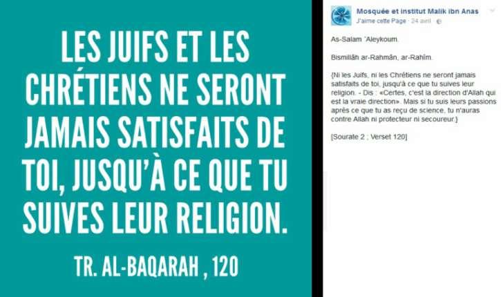 [Photos]Les Bleuets, une antenne du CCIF (de l'islamiste  Marwan Muhammad) qui appelle à combattre les Mécréants