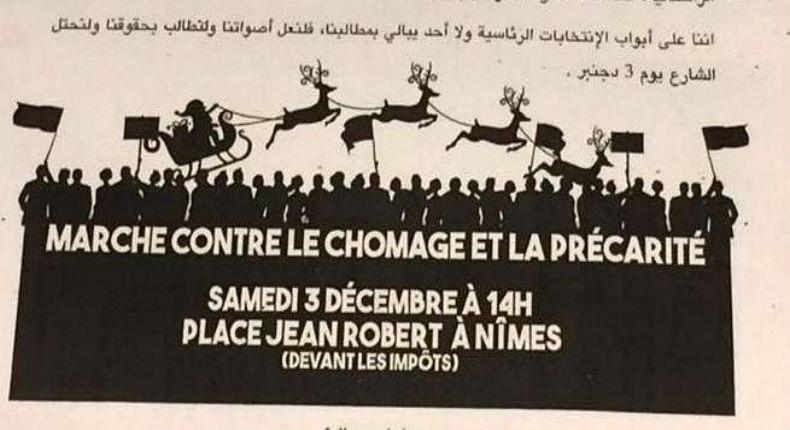 Nîmes : Des tracts de l'extrême gauche en langue arabe. Vive l'islamo-gauchisme !