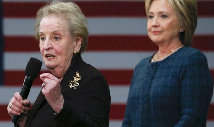 Pour protester contre les mesures de Trump sur l'immigration, Madeleine Albright veut se convertir à l'islam