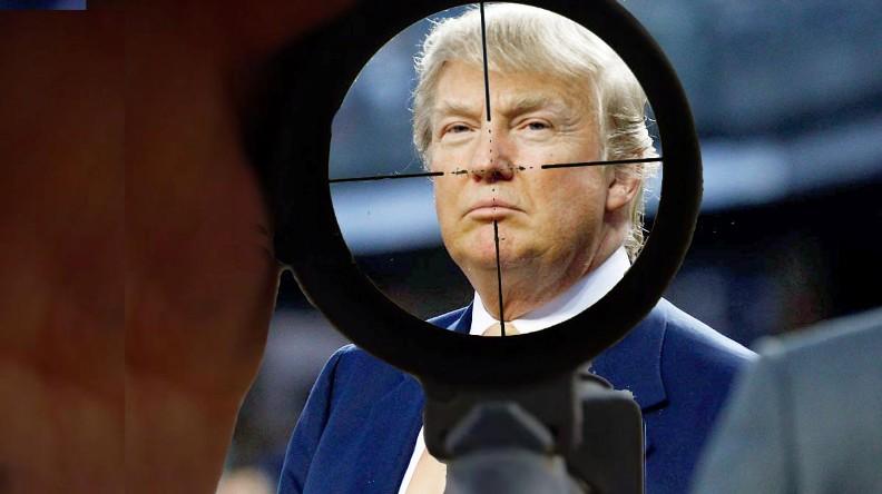 Eliminer, coûte que coûte, Donald J. Trump