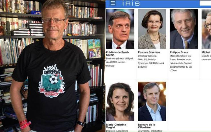 Révélations sur l'Enquête exclusive sur Jérusalem : La «neutralité» de Bernard De la Villardière remise en cause, il est membre de l'IRIS de l'antisioniste et antisémite Pascal Boniface