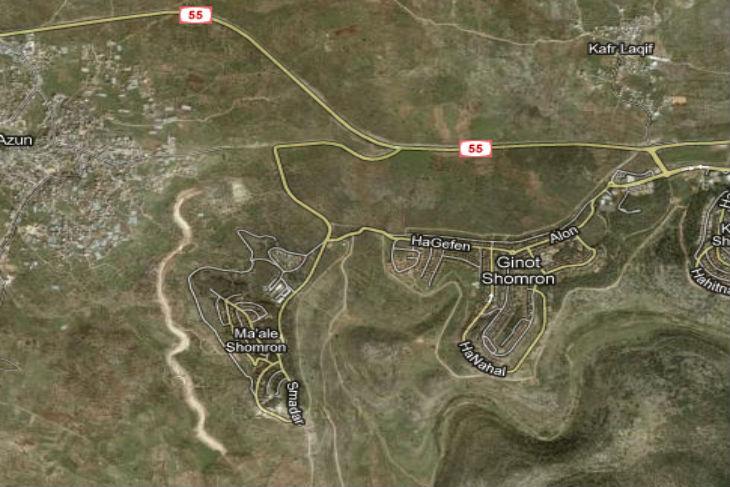 Israël : Un terroriste arabe a ouvert le feu sur les voitures circulant sur la route 55près de Karnei Shomron