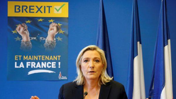 Présidentielles : Pour Marine LePen le duel sera entre «patriotes et mondialistes»