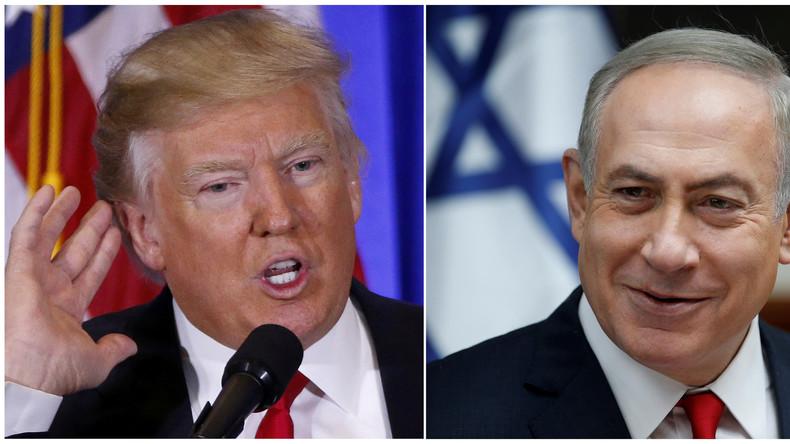 Netanyahu apprécie le projet de mur de Trump «J'ai construit un mur à la frontière sud d'Israël. Cela a stoppé toute l'immigration. Idée formidable»