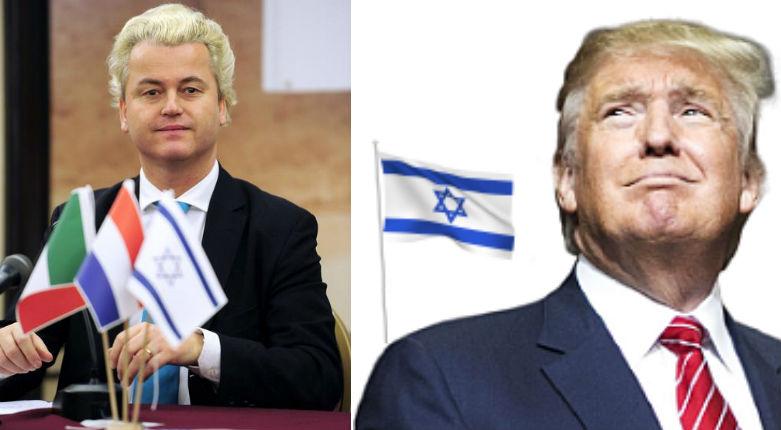 Tandis qu'au FN, sous influence soralienne, on soutient les islamistes palestiniens, Geert Wilders affirme « Nous avons aujourd'hui besoin d'un sionisme pour les nations européennes »