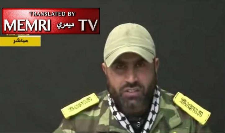 Gaza : un commandant du Fatah a déclaré : « il faudra que la Palestine soit libérée par la force de ses combattants et non par de futiles négociations »