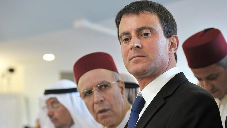 Manuel Valls qualifié de «meilleur ambassadeur» des islamistes du CCIF