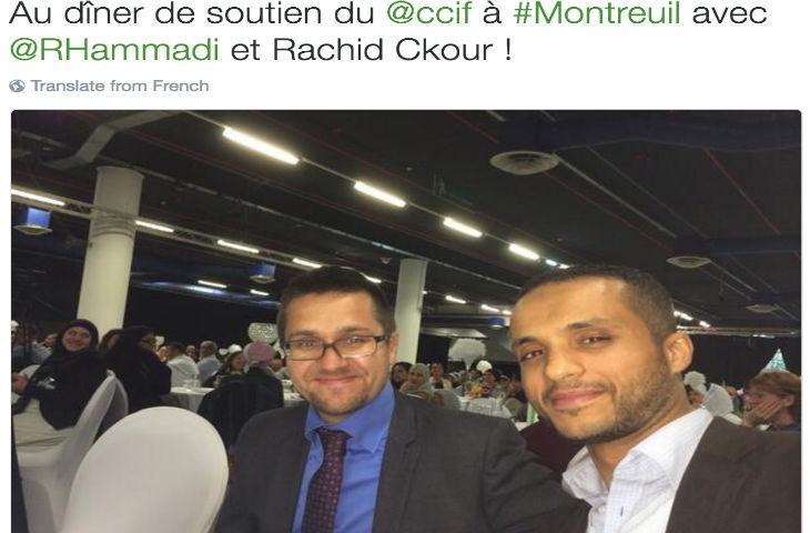 Alexis Bachelay, porte-parole de Benoît Hamon, un ami des islamistes du CCIF