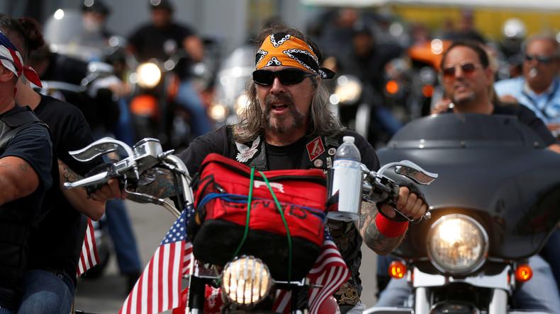 Les bikers américains vont protéger les citoyens qui assisterons à l'investiture du président Donald Trump