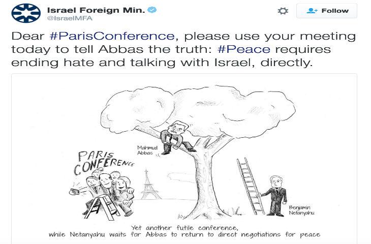 Conférence de Paris : La diplomatie israélienne clashe les dhimmis du Quai d'Orsay sur Twitter