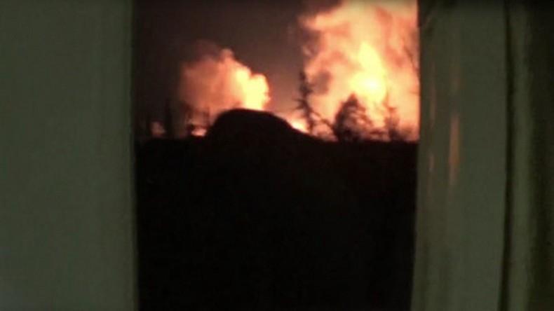[Vidéo] Explosions à l'aéroport militaire de Damas : la Syrie accuse Israël et menace de représailles