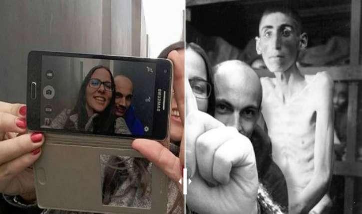 [Photos] «Yolocaust», le site qui replace les selfies inappropriés dans le contexte de l'horreur de la Shoah