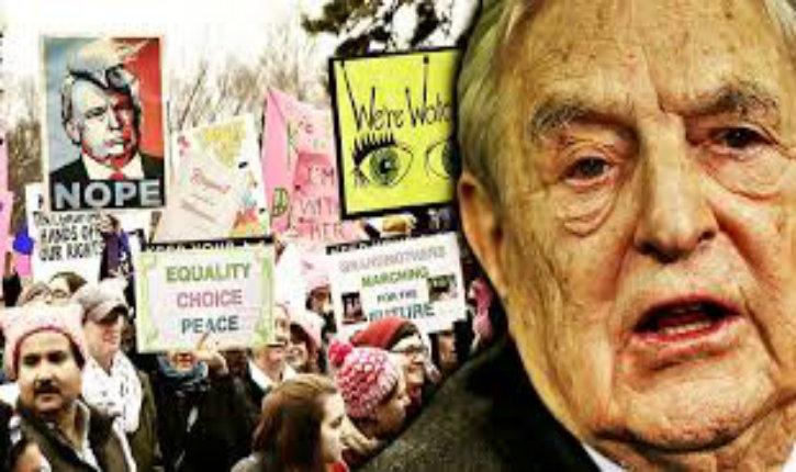 «Women March» : rien de spontané, le mouvement féministe anti-Trump a été sponsorisé par le nazi Soros
