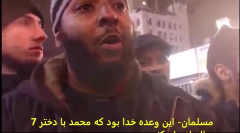 [Vidéo] Toronto : un musulman en pleine rue justifie la pédophilie et le meurtre d'infidèles au nom de l'islam