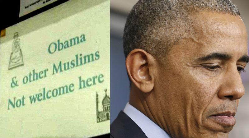 Etats-Unis : une épicerie «interdite aux musulmans et à Obama» fait scandale