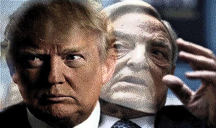 [Vidéo] Evelyne Joslain : « Les manifestants anti-Trump sont payés par Soros. »