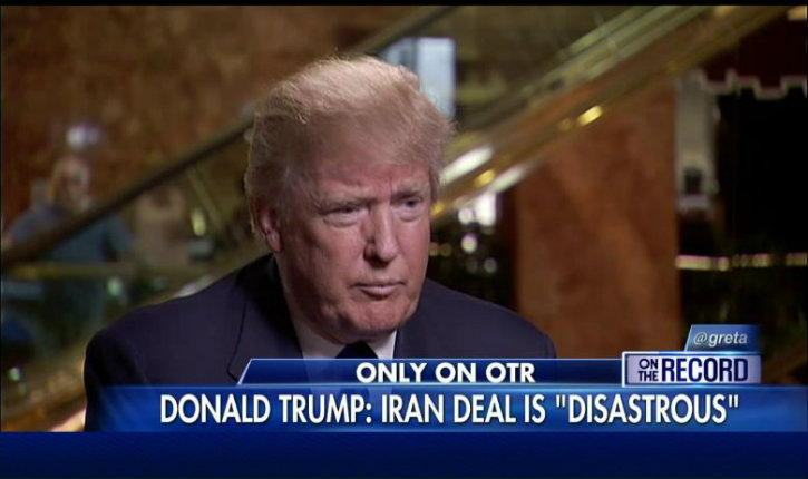 Trump : «L'iran joue avec le feu, je ne serai pas aussi gentil qu'Obama»