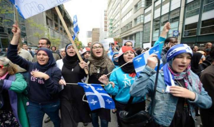 Le Québec, comme le reste du monde occidental est confronté à une crise existentielle démographique et religieuse