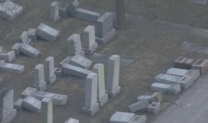 [Vidéo] Au moins 11 centres juifs ont reçu de nouvelles menaces, et une centaine de tombes profanées