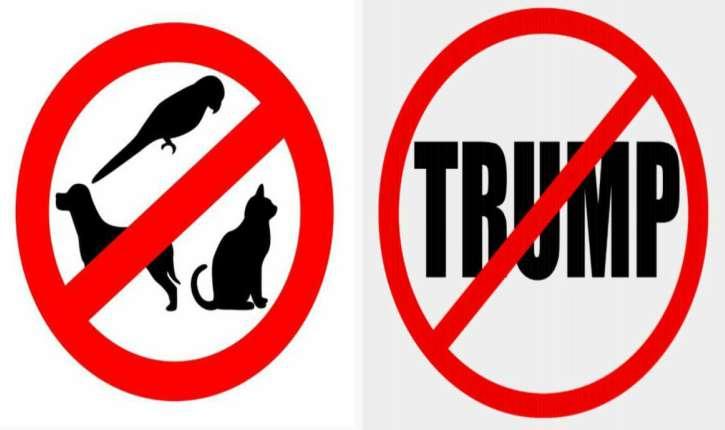 Offres locatives à Washington : « Pas d'animaux, pas de partisans de Trump ! »