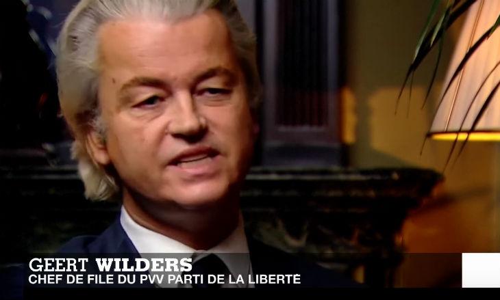 Pays-Bas : Geert Wilders, du PVV Parti de la liberté, « l'islamisme est encore plus dangereux que le nazisme »