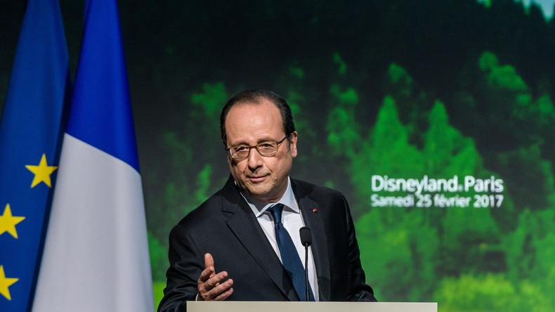 [Vidéo] Si pour Macron «il n'y a pas de culture française», Hollande invite Trump à Eurodisney pour qu'il «comprenne ce qu'est la France»