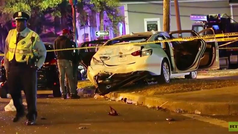 Copie de l'attentat de Nice : Un camion fonce dans la foule au carnaval à La Nouvelle-Orléans, au moins 28 blessés – Images chocs