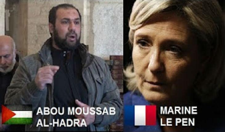 Sermon d'un cheikh palestinien visant Marine Le Pen à la mosquée Al-Aqsa
