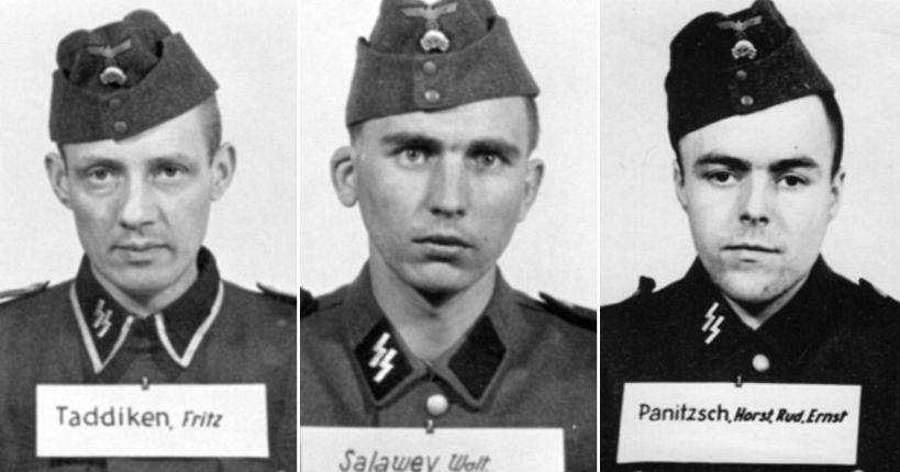 Visages du nazisme: Les SS gardiensd'Auschwitz qui ont assassiné 1,1 million de juifs recensés dans une base de données en ligne