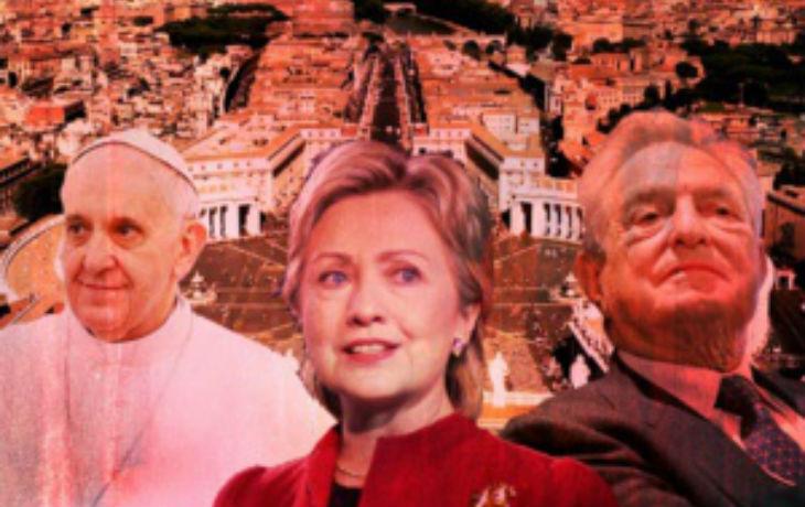 Selon des emails révélés par Wikileaks, Soros, Obama et Clinton ont orchestré un coup d'Etat au Vatican pour renverser Benoit XVI et le remplacer par un pape de gauche