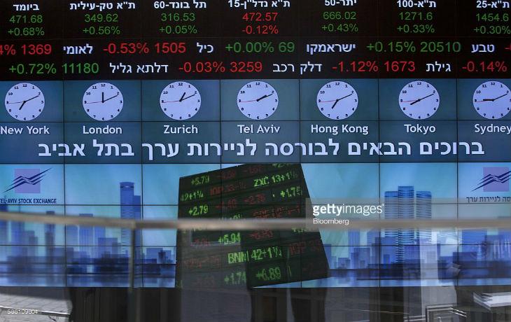 Boom à la bourse de Tel Aviv: le marché actions a bondi de 40% en 2016