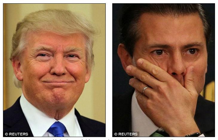Donald Trump exhorte leprésident mexicain d'arrêter les migrantsou il enverrait des troupes américaines au Mexique
