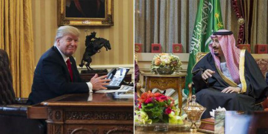 Après les tensions avec Obama, l'Arabie Saoudite est «optimiste» depuis que Trump est à la Maison Blanche