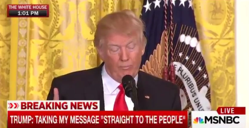 [Vidéo] «J'ai hérité d'un foutoir ! Chez nous et à l'extérieur. Le Moyen-Orient: un désastre !» : Donald Trump incendie le bilan de Barack Obama