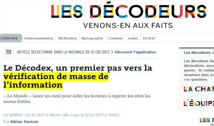 Bénéficiant des subventions de l'État français, le quotidien Le Monde vient de mettre sur pied le premier tribunal de l'Inquisition du Web.