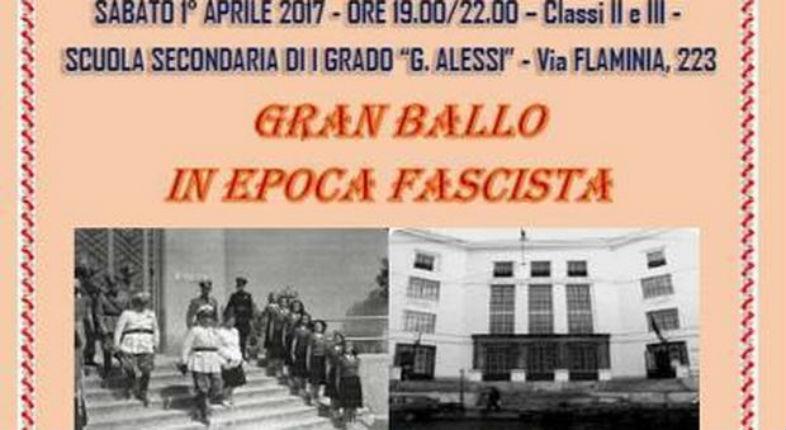 Italie : Un grand bal scolaire avait pour thème «la grande époque du fascisme»