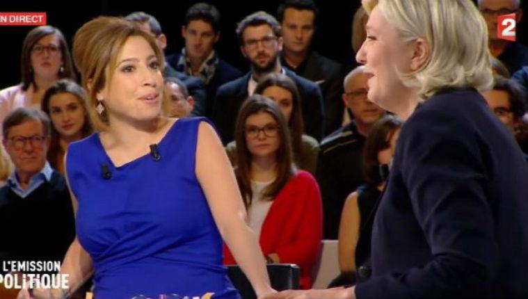 Polémique : Léa Salamé et Marine Le Pen s'adonnent au mythe antisémite de la double nationalité des Juifs