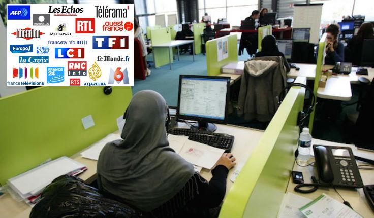 [Vidéo] Révélations : Les modérateurs des médias français sont musulmans basés au Maroc et censurent toute critique de l'islam