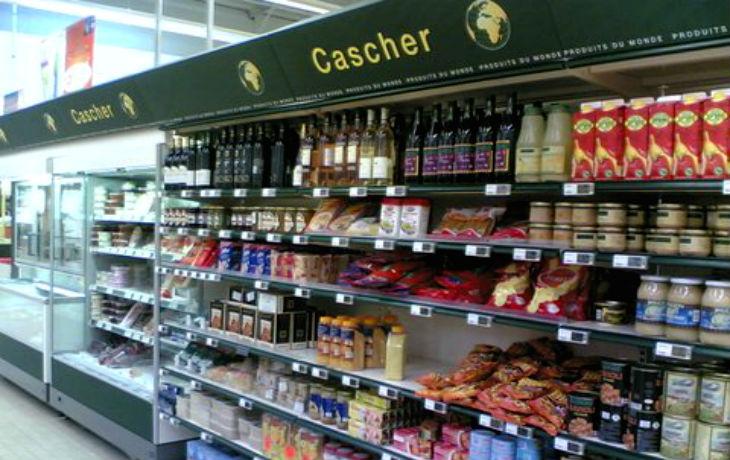 Enghien Les Bains : A l'Intermarché, le jambon se trouve avec les produits cashers…