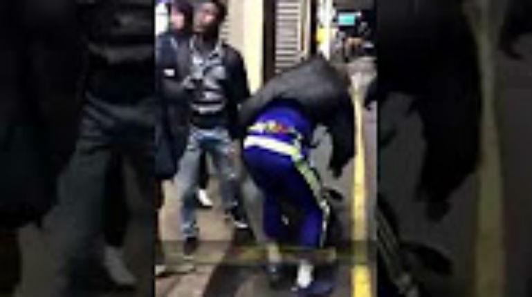 [Vidéo] Villeneuve-Saint-George : Des racailles agressent des Blancs dans le RER