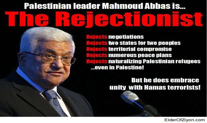 Le négationnisme dont on ne parle pas: celui du président de l'Autorité palestinienne,  Mahmoud Abbas
