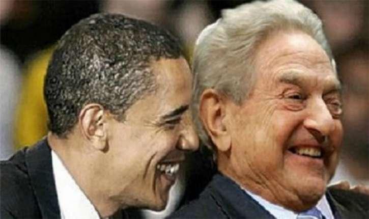 Obama et Soros, la cinquième colonne de Trump
