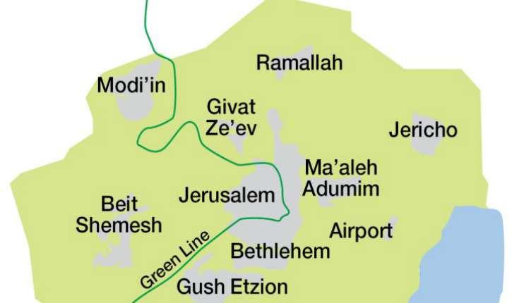 Le nouveau plan directeur : « Jérusalem 5800 », projection de ce que sera la capitale israélienne en 2040