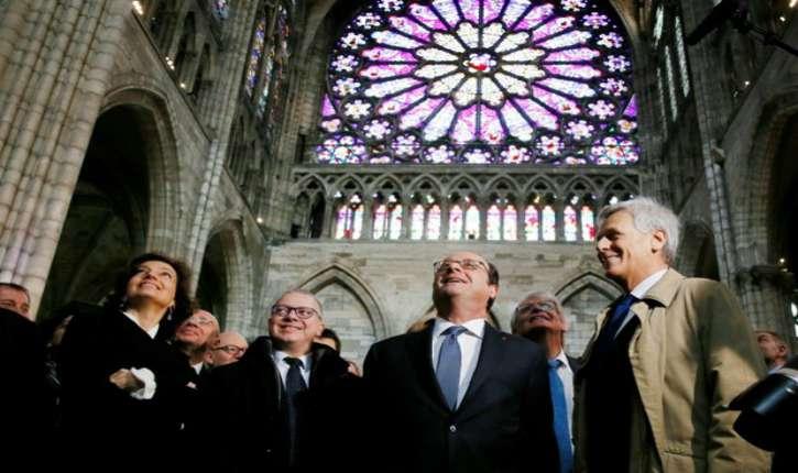 François Hollande « Je ne le dirais qu'ici, mais Paris est la banlieue de Saint-Denis »